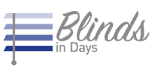 Logo Blinds in Days, blinds in miami area